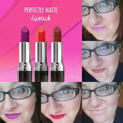 Avon True Color Perfectly Matte Lipstick Swatches Review Beauty